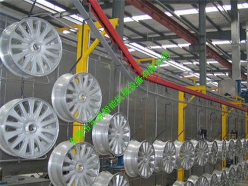 輪轂自動塗裝線