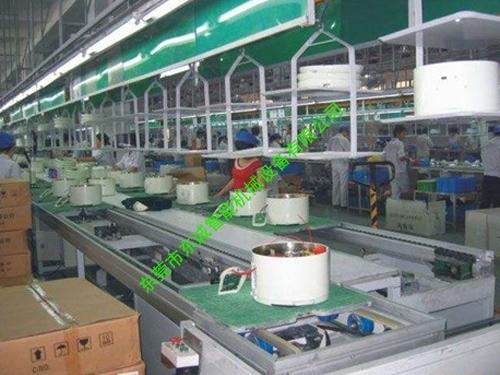 電飯煲組裝生產線
