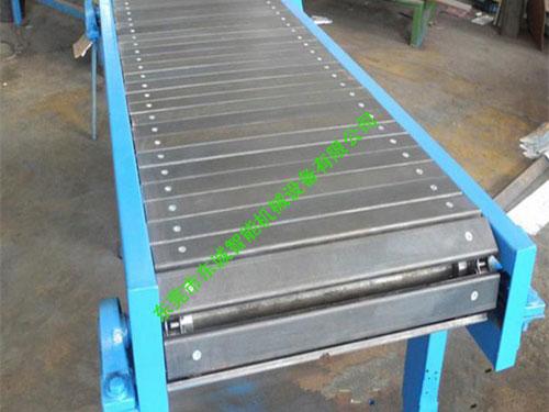 不鏽鋼鏈板輸送機