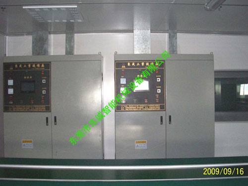 兩塗兩烤線PLC中央控製櫃