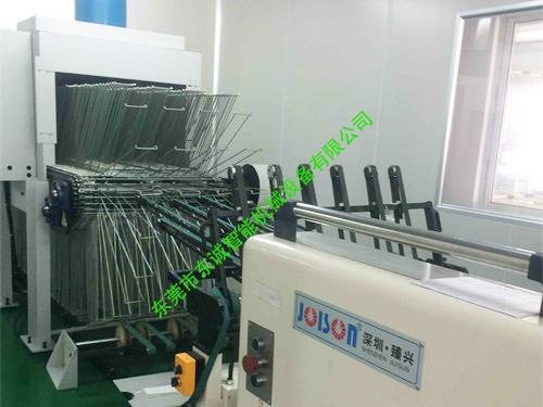 紙夾式絲印烘幹線