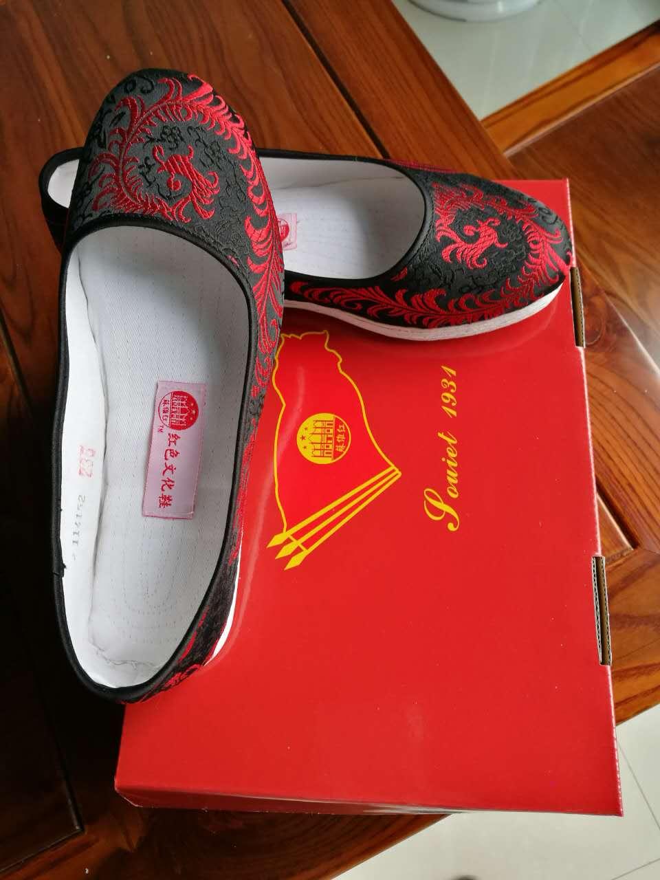 红千层底红凤凰传统手工布鞋