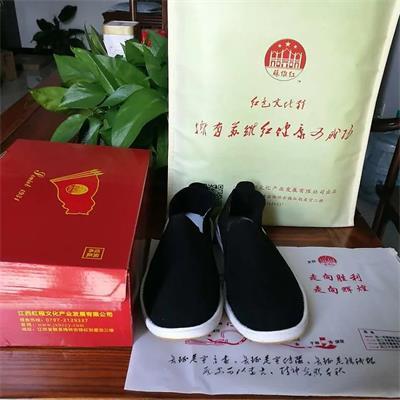 远红外负离子超纤养生手工布鞋厂家
