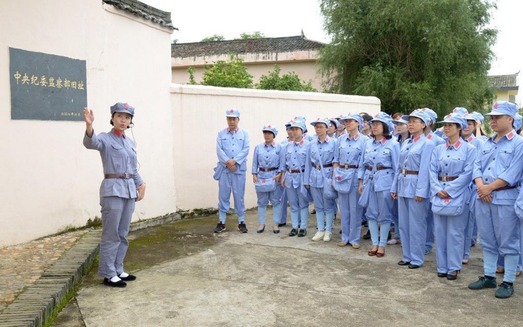 赣州红军服
