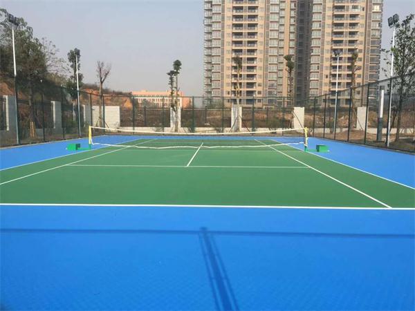 武汉硅pu球场材料施工