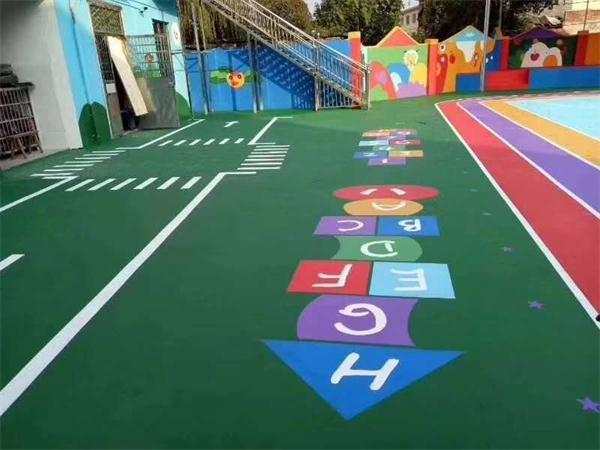 武漢幼兒園塑膠地板
