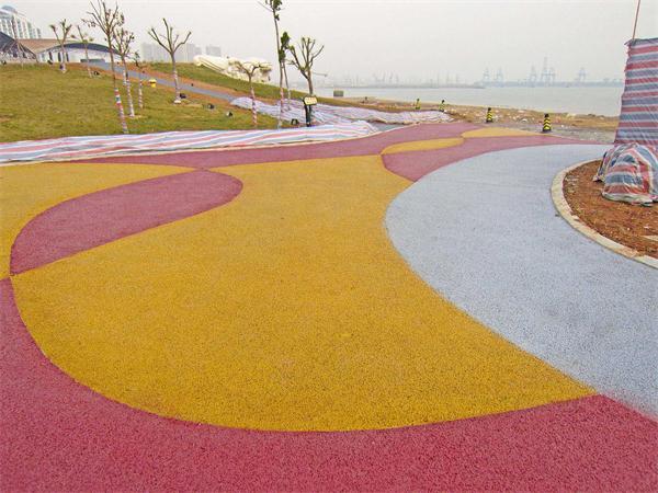 武汉彩色透水地坪