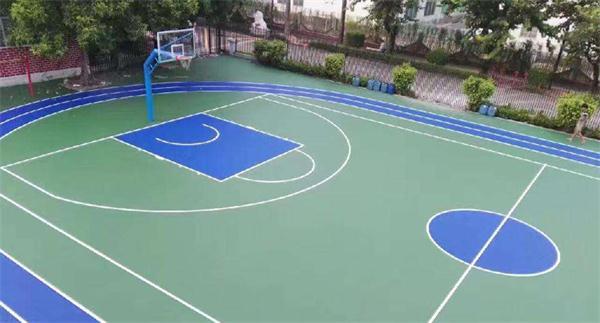 武汉硅pu篮球场材料