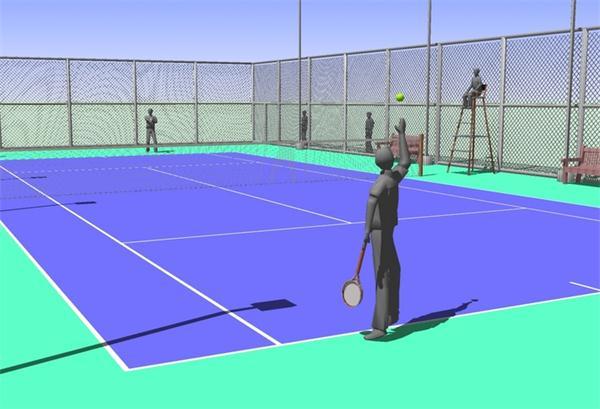 武汉丙烯酸网球场