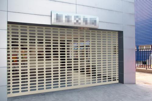 云南银行卷帘门