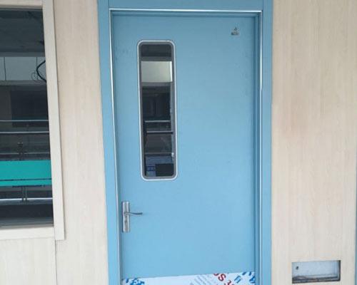 蓝色医院专用门款式