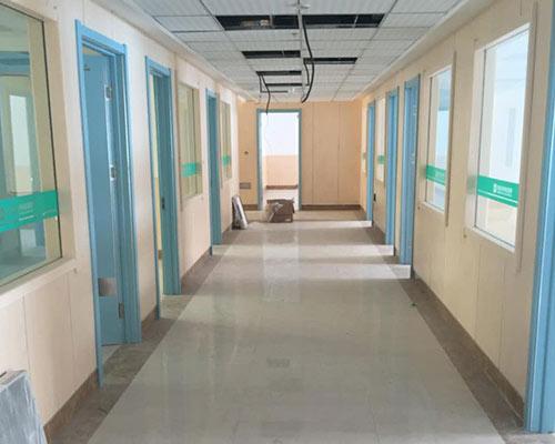 蓝色系列医院走廊专用门