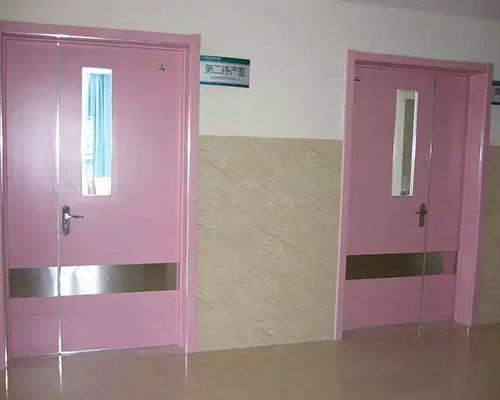 粉色系列医院专用门