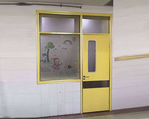 黄色环保门