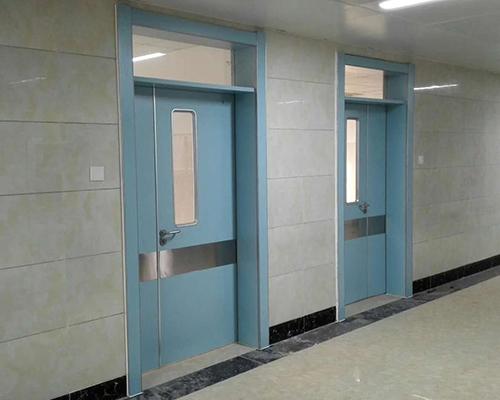 医院专用门、蓝色医院门