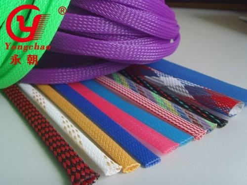彩色编织网管