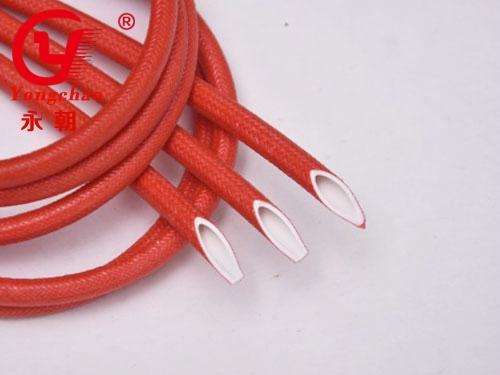硅橡膠玻璃纖維(內膠外纖)套管