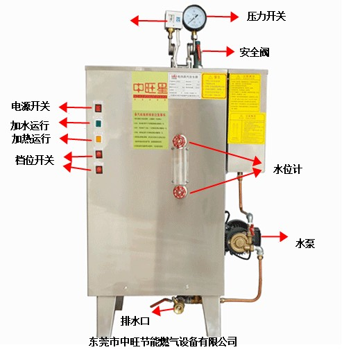 高压电蒸汽发生器