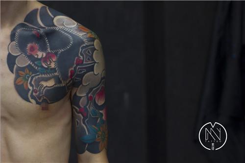 日式传统纹身]