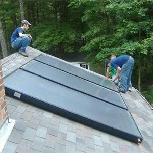 屋顶平板太阳能