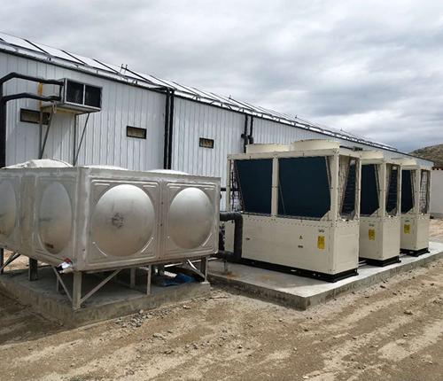 空气源热泵中央空调安装案例