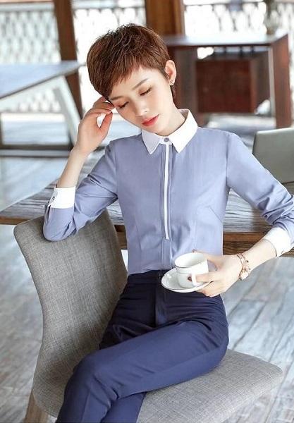 高端女士衬衫