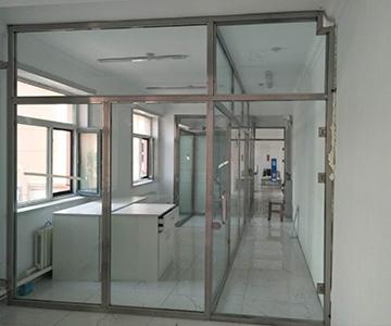 不锈钢玻璃隔断