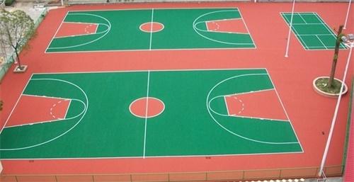 硅PU球场地坪