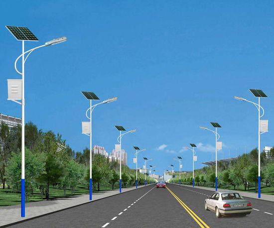 8米40瓦太阳能路灯