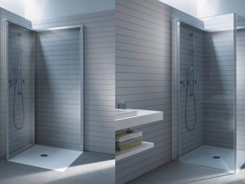 折叠淋浴房
