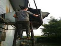 排烟风机风柜清洗