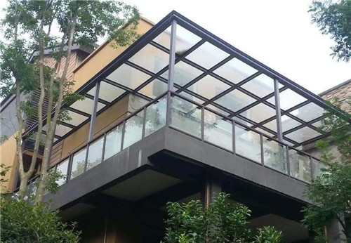 武�h玻璃雨棚