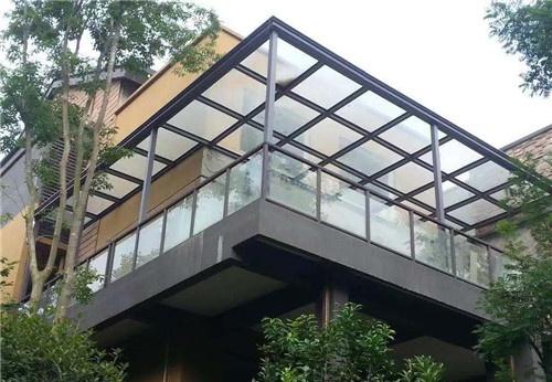 武汉玻璃雨棚