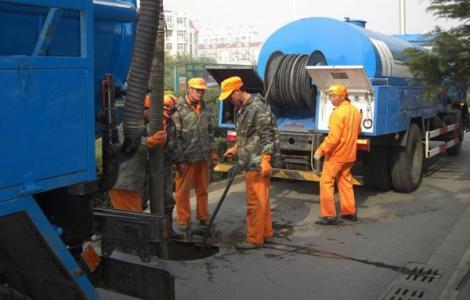 汉口排水管道疏通