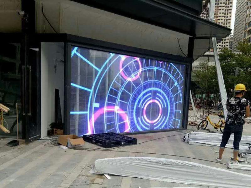 重庆LED透明屏商家