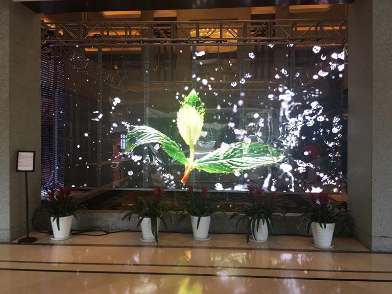 重庆LED透明屏厂家