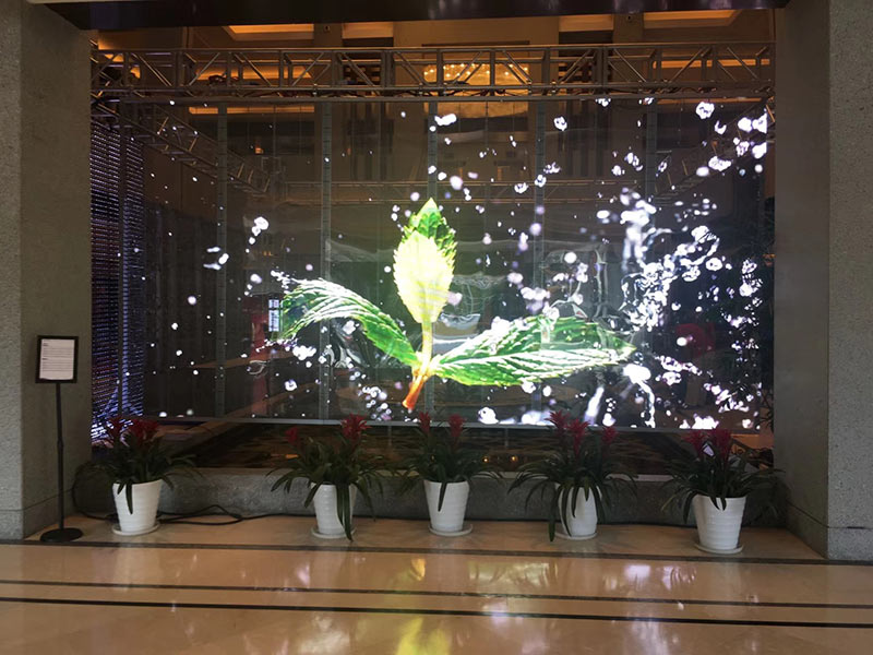 重慶LED透明屏廠家