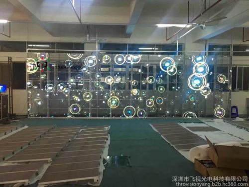 重慶led透明屏