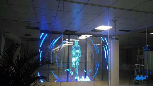 重庆LED透明屏安装