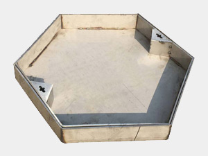 不锈钢六角形井盖