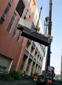 大型车床设备吊装
