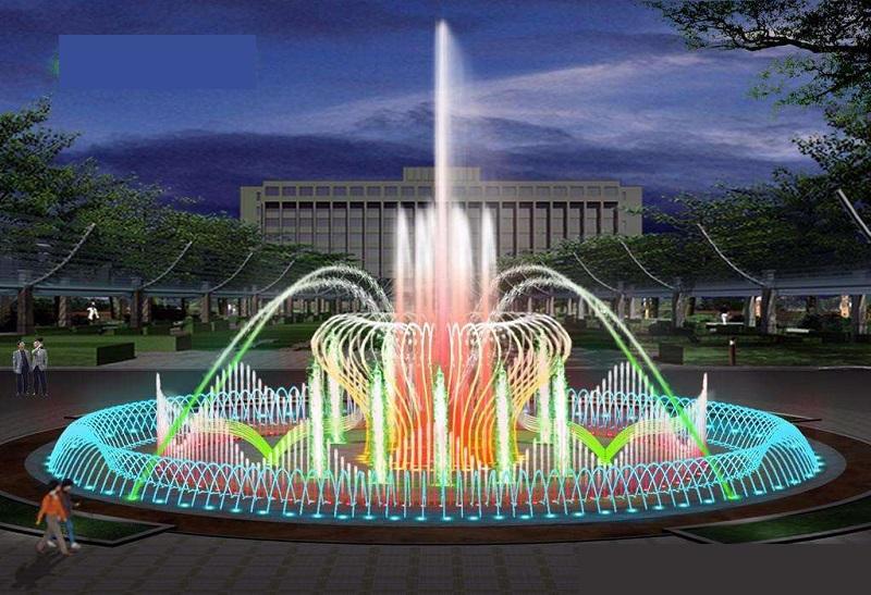 程控喷泉喷头