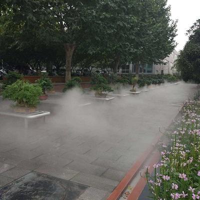 西京学院人造雾工程