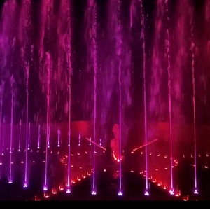 兰州榆中县音乐喷泉