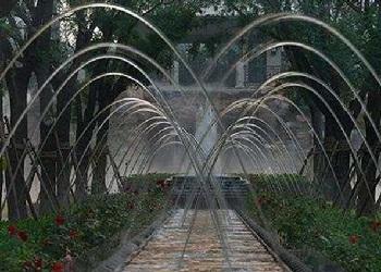 景区漂浮喷泉