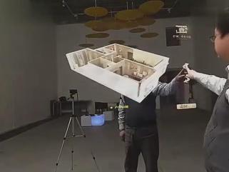镜面全息成像系统