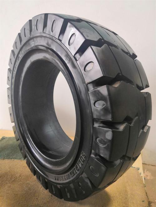 重庆实心轮胎安装