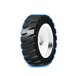 滑移(腹板)式实心轮胎