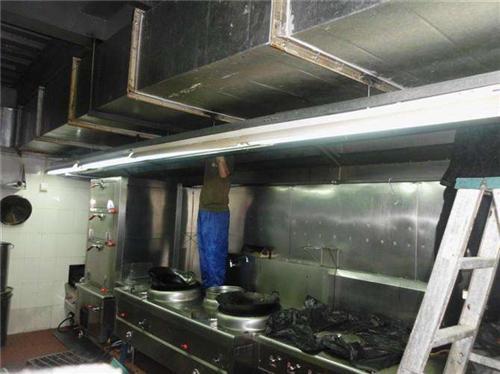 重庆大型油烟管道清洗