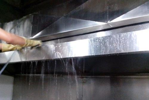 重庆酒店厨房油烟机清洗